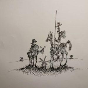Don Quixote- tribute